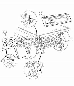 Rear Body Trim  U2013 Turf  Carryall 1  2  And Carryall 2 Plus
