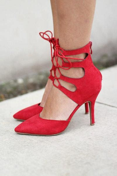 red strappy heels red shoes red heels saved   dress