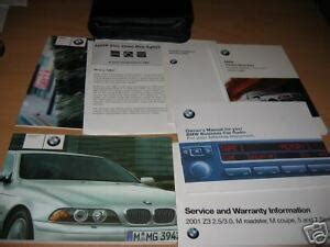 bmw    owners manual sport wagon sedan ebay