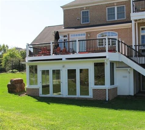 Sunroom On Deck by Convert Your Deck Into A Sunroom Deck Renovation Ideas