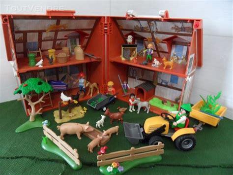 ferme transportable playmobil ferme playmobil tracteur clasf