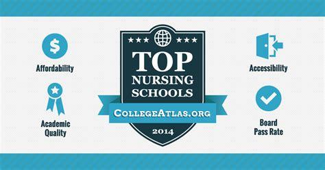 top nursing schools      list