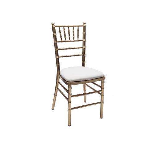 Baker Party Rentals  Gold Chiavari Chair Rentals