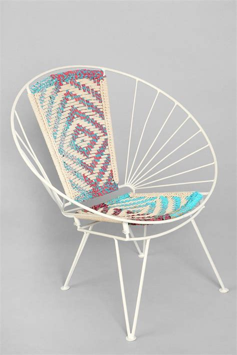 magical thinking woven wire chair urban outfitters