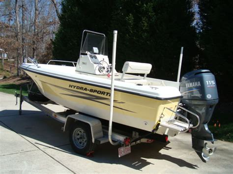 Fishing Boat For Sale Craigslist by Hydra Sports 180cc Boat Sold Thru Craigslist The Hull