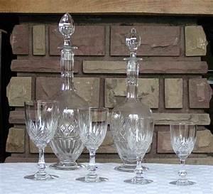 Service De Verre En Cristal : verres cristal de saint louis service massenet ~ Teatrodelosmanantiales.com Idées de Décoration