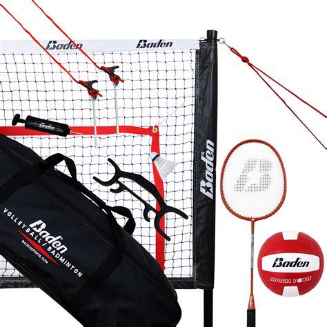 foto de Baden Champions Volleyball Badminton Combo Set Walmart com