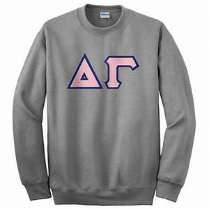 something greek delta gamma clothing and accessories With delta gamma letter sweatshirt