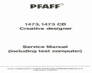Pfaff Sewing Machine Instruction Manuals