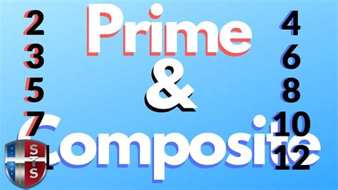 find  prime  composite numbers   youtube