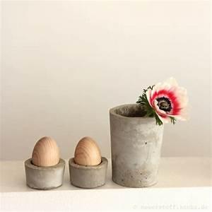 Eierbecher Selber Machen : eierbecher aus beton diy anleitung handmade kultur ~ Lizthompson.info Haus und Dekorationen