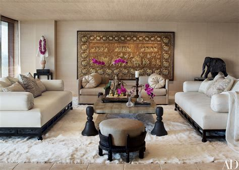beautiful indian homes interiors cher s los angeles high rise features decor from around