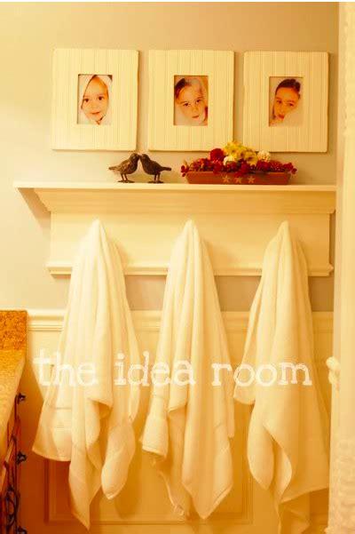 cindy morgan creative ways  hang bathroom towels