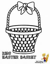 Basket Easter Coloring Pages Baskets Empty Boys Printable Template Colouring Yescoloring Apple Bushel Kid Clipart Handsome Picnic Templates sketch template