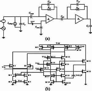 A  Preamplifier  Amplifier Chain Block Diagram   B  Folded
