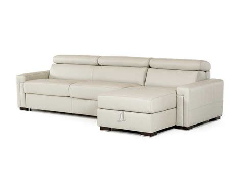 Leather Sectional Sofa Sleeper by Leather Sectional Sofa With Sleeper Vg360 Leather Sectionals