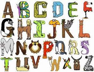 free animal themed alphabet letters draw pinterest With alphabet letters that look like animals