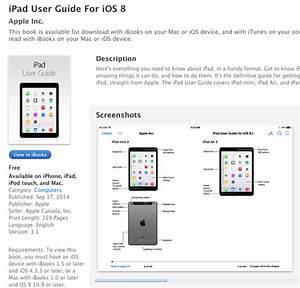 Apple U0026 39 S Ios 8 User Guide Leaks  U0026 39 Ipad Air 2 U0026 39  And  U0026 39 Ipad Mini