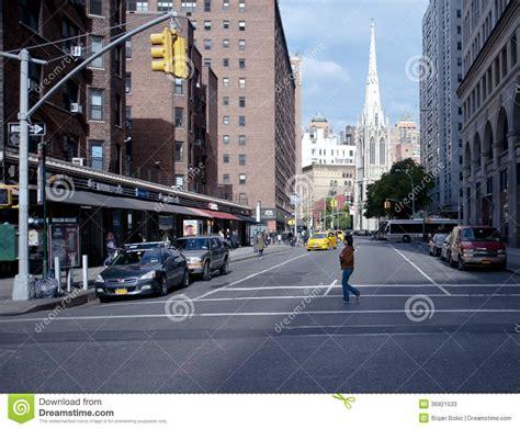 Street Scene In Greenwich Village New York City Editorial