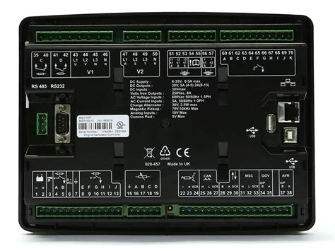control module dse  synchronising load sharing amf   deep sea electronics genset
