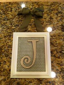 66 best images about i d e a s crafty on pinterest how With wooden monogram letters hobby lobby