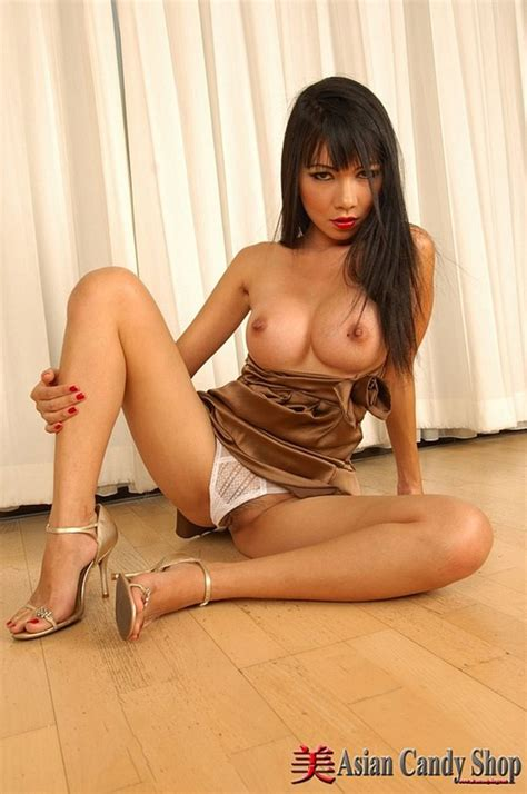 Asian Girl Mintra In Beige Silk Dress And Knickers Photo