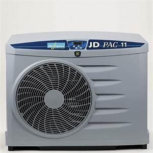 Pompe à chaleur piscine JD Pac 11 La Boutique Desjoyaux