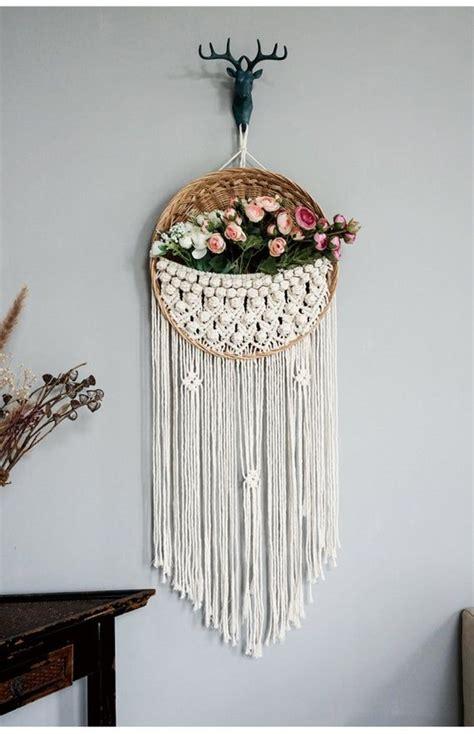 macrame wall hanging woven tapestry wall hang hand