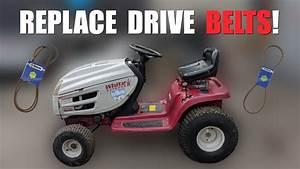 Garden Tractor Drive Belt Replacement