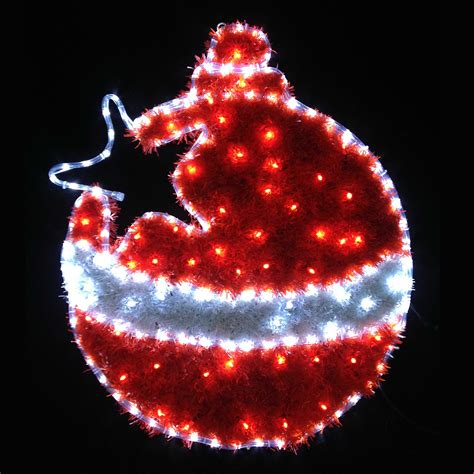 red outdoor christmas lights red white led tinsel christmas bauble flashing indoor