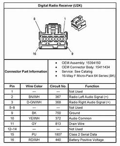 21 Lovely 2004 Chevy Trailblazer Radio Wiring Diagram
