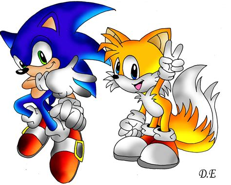 Sonic And Tails By Kslrmine On Deviantart