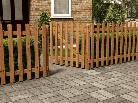 Small Trellis Fence by How To Repair A Picket Fence Gate Home Ideas Collection