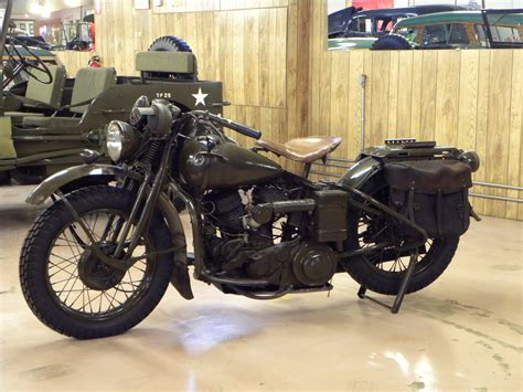 harley davidson wla 1942 harley davidson wla volo auto museum