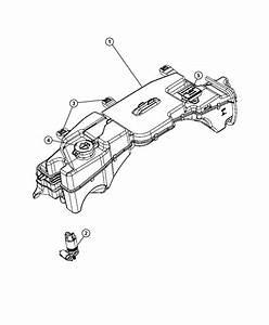 2009 Dodge Grand Caravan Se 3 3l V6 Pump  Pump Package  Washer  Windshield  Windshield Washer