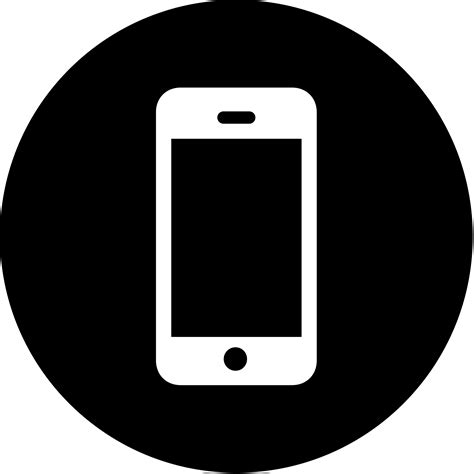 Mobile Phone Icon For Resume by Devfest 2016
