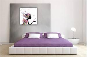 tableau enfant fee des fleurs 50x50 cm tableaux enfants With chambre bébé design avec envoi fleurs Ï domicile