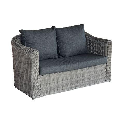 canapé de jardin 2 places canapé de jardin 2 places giglio gris gris anthracite