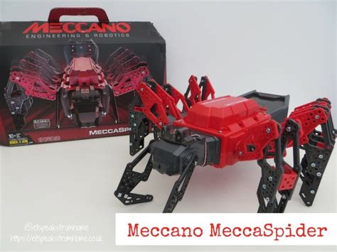 meccano meccaspider review  speaks  home