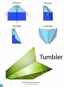 Paper Airplane Instructions  U2013 Tumbler
