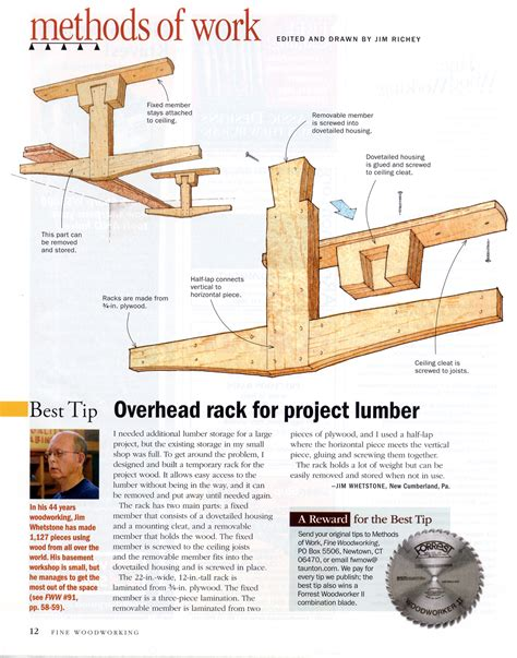 fine woodworking magazine subscription plans diy