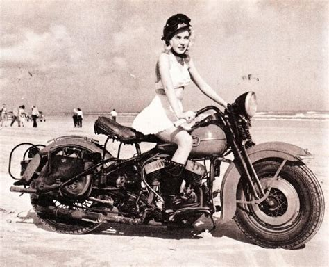 Blonde On A Harley
