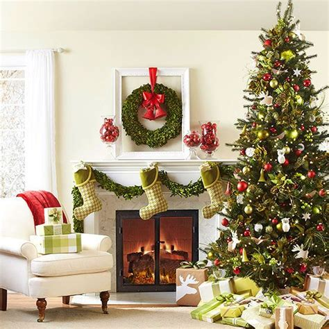 ideas for classic christmas tree decorations happy top 16 classic christmas living room designs easy