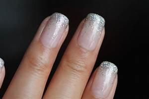 dsk steph 39 s nails glitter waterfall shellac nails