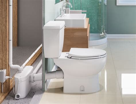 daydream   basement bath  macerating toilet