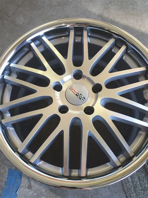 wheels hawk c6 cray hawk wheels silver with polished lip corvette international