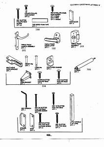 Door Hardware Parts  U0026 Sc 1 St Sears Parts Direct