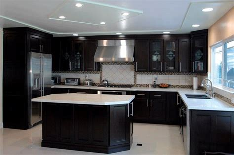 Espresso Kitchen Base Cabinets by Shaker Cabinets For Your Kitchen Remodeling Project