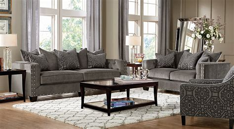 home sidney road gray 5 pc living room living room sets gray