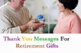 thank you messages for retirement